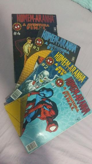 Revistas Hqs Marvel Homem-aranha A Aventura Final