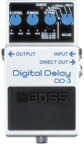 Pedal Boss Dd-3 | Digital Delay | Para Guitarra