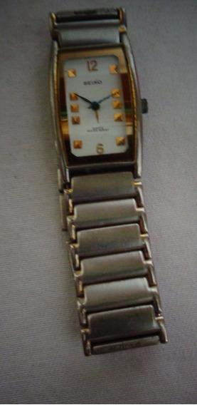 Relógio Seiko Pulso Antigo No Estado