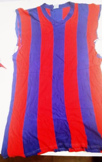 Antigua Camiseta San Lorenzo. No Tiene Las Mangas Ver Foto