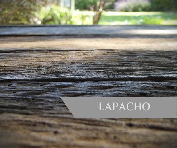 Deck Símil Madera - Lapacho 100x13x4cm - Línea Wood