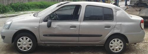Renault Clio Sedan 2007 Flex Sucata Para Peças