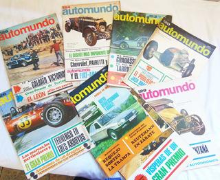 Revista Automundo / N° Discontinuos / Año 1967 A 1971