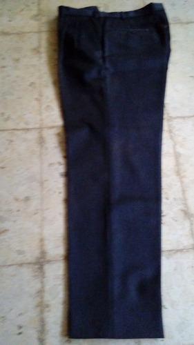 Pantalon De Vestir Talle L Color Gris De Hombre