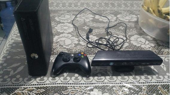 (joga Online) Xbox 360 4gb+um Controle Original+kinect