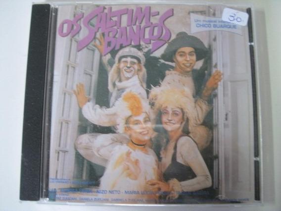 Cd = Os Saltimbancos - Musical Infantil - Chico Buarque