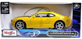 Chevy Camaro Rs 2010 1:24 Maisto Amarelo