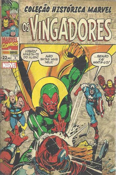 Colecao Historica Marvel Vingadores 3 Bonellihq Cx107 I19