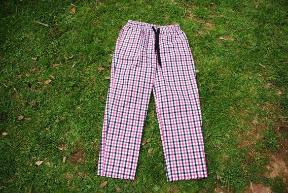 Pantalon Unisex Cuadrillé Pijama Algodón 100% Escoces Pants