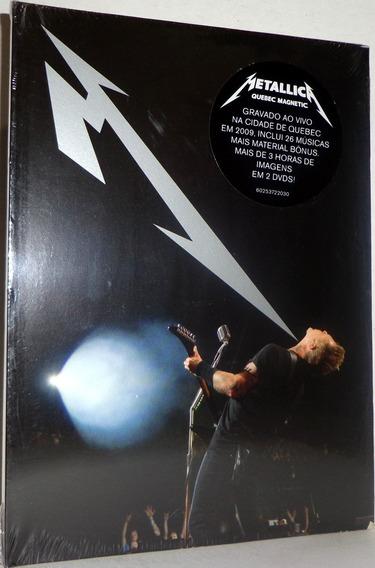 Dvd Metallica - Quebec Magnetic ( Dvd Duplo ) - Promoção