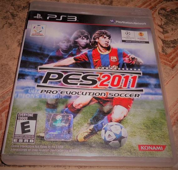 Pes 2011 Pro Evolution Soccer - Playstation 3