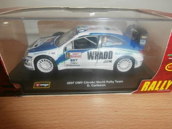Citroen Omv Citroen World Rally Team 2007 Burago Escala:1:32