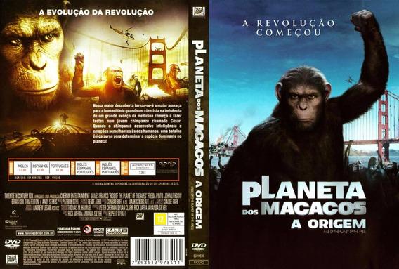 Dvd Planeta Dos Macacos A Origem