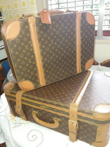 Valija Antigua Francesas Originales Louis Vuitton