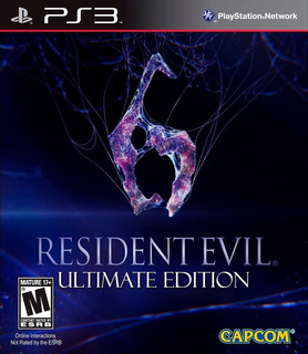 Resident Evil 6 Ultimate Edition + 3 Juegos Ps3