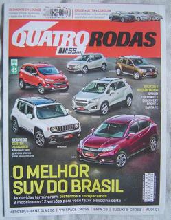 Revista Quatro Rodas Edição 669 - O Melhor Suv Do Brasil.