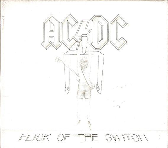 Cd Ac/dc - Flick Of The Switch - Digipack - Novo Lacrado***