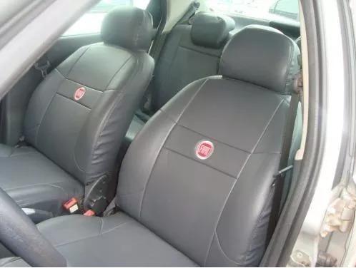 Capas 100% Couro Courvin Fiat Idea Sporting 2011 A 2012