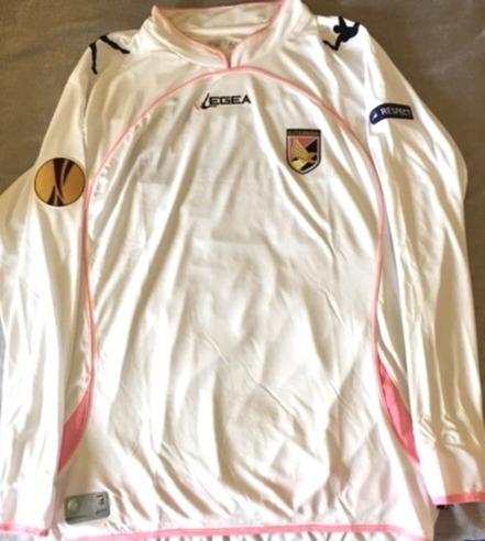 Camisa Palermo Europa League 2011 De Jogo Kasami #4