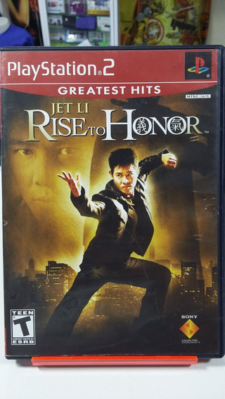 Jet Li Rise To The Honor Ps2 Playstation 2 Sony Original Jog