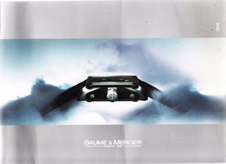 Catálogo Baume & Mercier - Relojes Dama Y Caballero - 2008