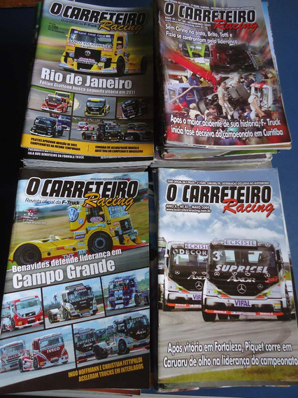 Revista O Carreteiro Racing 09/05 A 12/14 - Valor Unitario