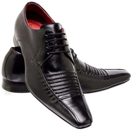 Calçado Masculino Sapato Social Italiano Lançamento Couro