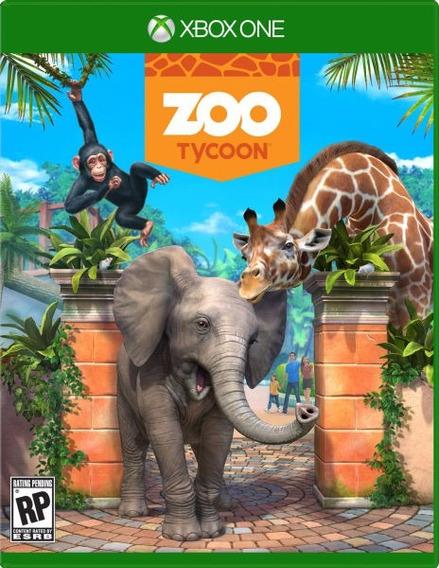 Zoo Tycoon (mídia Física Em Portugues) - Xbox One (novo)