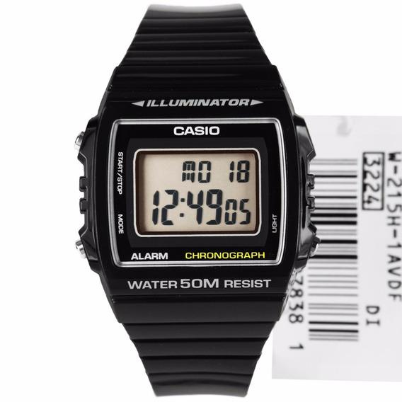 Relógio Masculino Esportivo Casio Digital Preto W215h1avdf