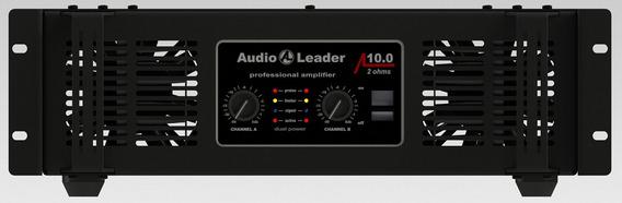 Amplificador De Potência Audio Leader Al10.0 10.000watts Rms