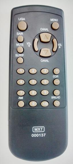 Controle Remoto Tv Sharp C1438/c2038/c1413/ C1417 Com 02 Peç