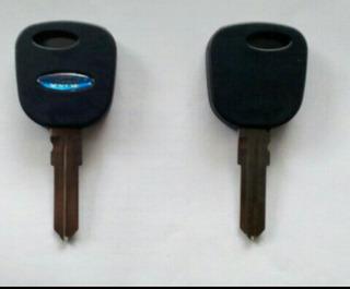 Llave Completa Con Chip Programar Para Ford Fiesta Eco Sport