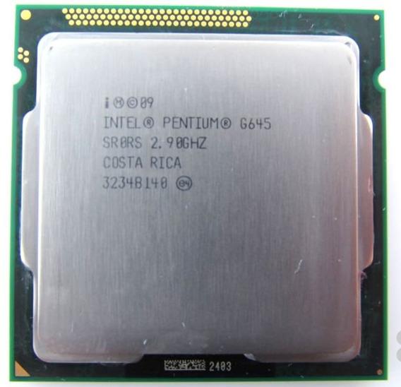 Pentium Dual Core G645 Socket 1155 2.9 Ghz Oem Com Garantia!