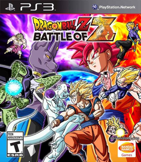 Dragon Ball Z Battle Of Z Ps3   Mídia Física Original