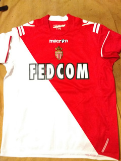 Camisa Do Monaco, 2011, Tamanho M Com O Número Desgastado