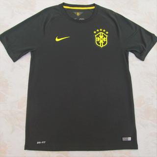 575284-337 Camisa Nike Brasil Cbf Third 2014 M Verde Fn1608