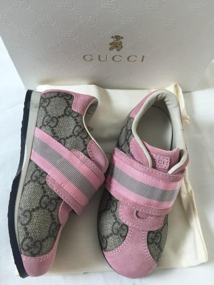 Tenis Infantil Gucci Original