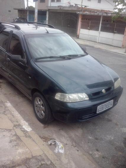 Fiat Pailo Weekend Elx 16 V 2002 Gasolina Revisada Pneu Novo