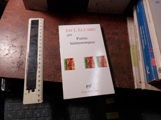 Paul Eluard Poesie Ininterrompue Libros Revistas Y