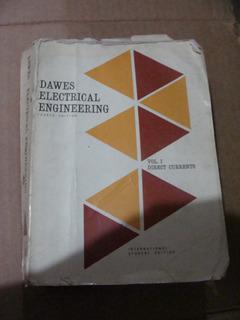 Libro Dawes Electrical Engineerien , Vol. I , 738 Pagina