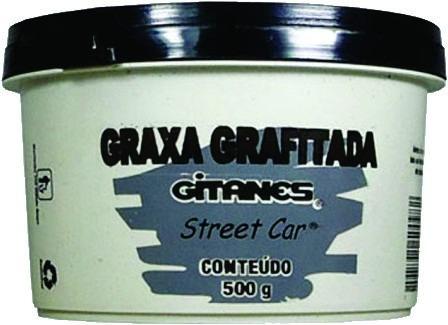 Caixa Com 05 Graxa Grafitada 500g - Gitanes