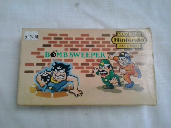 Pocket Size Nintendo Game Watch Bomb Sweeper Original