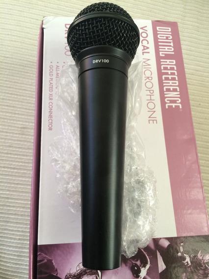 Microfone Voz Digital Reference Drv100 Zerado