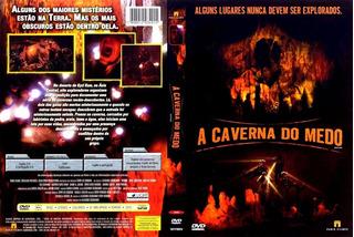Dvd A Caverna Do Medo - Seminovo Igual A Novo Frete Grátis
