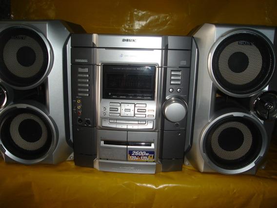 Micro System Sony Hcd-rg55 - 2.600w - 3 Cd
