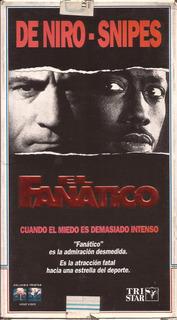 El Fanatico Vhs Robert De Niro Wesley Snipes Benicio Del Tor