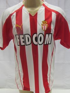 Camisa De Futebol Do Monaco Da França #36 Vieri Puma - T