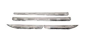 Estribinho Inox (4 Peças) Fusca 1600 4 Portas Prod Antiga
