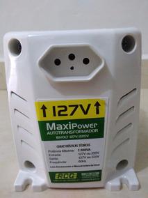 Auto Transformador Rcg Bivolt 1500 Va Maxi Power Antichamas