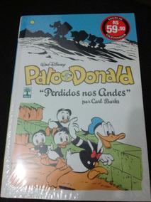 Pato Donald - Perdidos Nos Andes - Lacrado Capa Dura